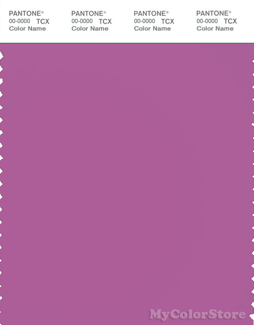 PANTONE SMART 18-3224X Color Swatch Card, Radiant Orchid