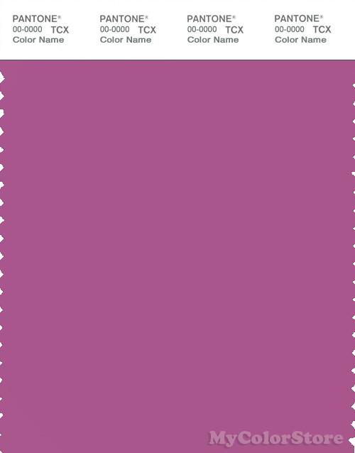 PANTONE SMART 18-3230X Color Swatch Card, Meadow Mauve