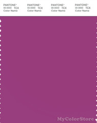 PANTONE SMART 18-3339X Color Swatch Card, Bright Red Violet