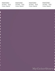 PANTONE SMART 18-3415X Color Swatch Card, Grape Jam