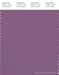 PANTONE SMART 18-3418X Color Swatch Card, Chinese Violet