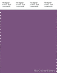 PANTONE SMART 18-3522X Color Swatch Card, Crushed Grape