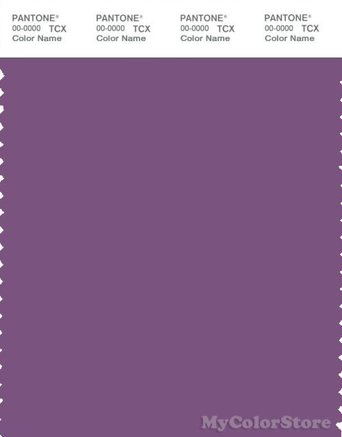 PANTONE SMART 18-3522X Color Swatch Card, Crushed Grape