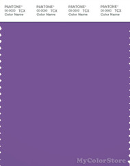 PANTONE SMART 18-3633X Color Swatch Card, Deep Lavender