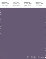 PANTONE SMART 18-3714X Color Swatch Card, Mulled Grape