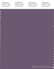 PANTONE SMART 18-3715X Color Swatch Card, Montana Grape
