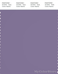 PANTONE SMART 18-3718X Color Swatch Card, Purple Haze