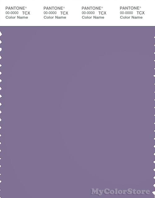 PANTONE SMART 18-3718X Color Swatch Card, Purple Haze