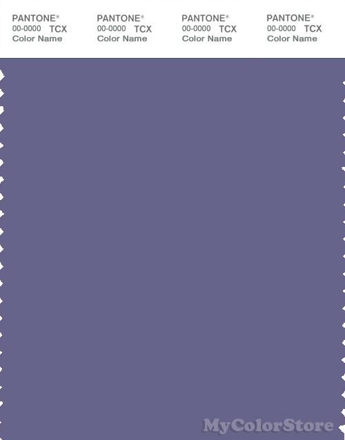 PANTONE SMART 18-3820X Color Swatch Card, Twilight Purple
