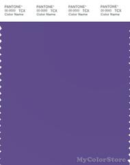 PANTONE SMART 18-3838X Color Swatch Card, Ultra Violet