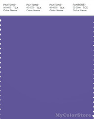PANTONE SMART 18-3840X Color Swatch Card, Reddish Blue