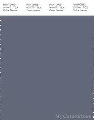 PANTONE SMART 18-3910X Color Swatch Card, Folkstone Gray