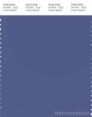 PANTONE SMART 18-3932X Color Swatch Card, Purple Mountain