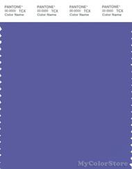 PANTONE SMART 18-3943X Color Swatch Card, Blue Iris