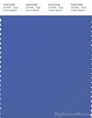 PANTONE SMART 18-3945X Color Swatch Card, Amparo Blue