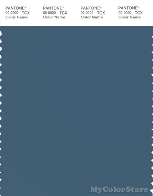 PANTONE SMART 18-4018X Color Swatch Card, Real Teal