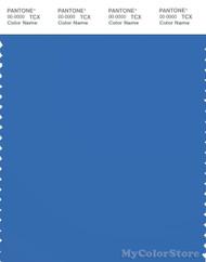 PANTONE SMART 18-4043X Color Swatch Card, Palace Blue
