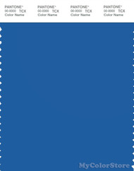 PANTONE SMART 18-4051X Color Swatch Card, Strong Blue
