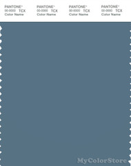 PANTONE SMART 18-4217X Color Swatch Card, Bluestone