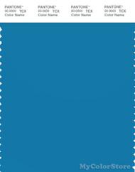 PANTONE SMART 18-4334X Color Swatch Card, Mediterranian Blue
