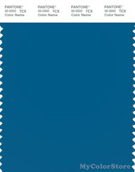 PANTONE SMART 18-4434X Color Swatch Card, Mykonos Blue