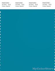 PANTONE SMART 18-4525X Color Swatch Card, Caribbean Sea