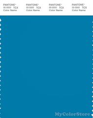 PANTONE SMART 18-4535X Color Swatch Card, Blue Jewel