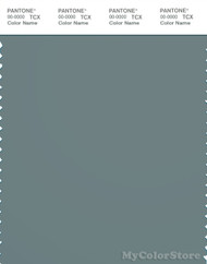 PANTONE SMART 18-4711X Color Swatch Card, Stormy Sea
