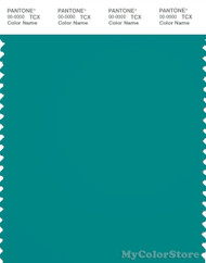 PANTONE SMART 18-4930X Color Swatch Card, Tropical Green