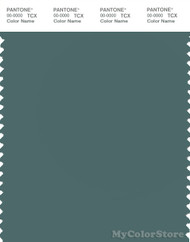PANTONE SMART 18-5112X Color Swatch Card, Sea Pine