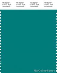 PANTONE SMART 18-5128X Color Swatch Card, Blue Grass