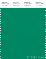 PANTONE SMART 18-5622X Color Swatch Card, Frosty Spruce