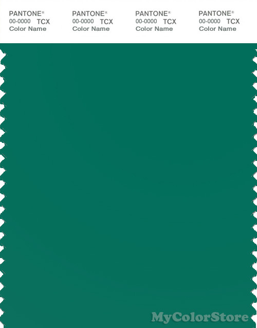 PANTONE SMART 18-5624X Color Swatch Card, Shady Glade