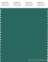 PANTONE SMART 18-5725X Color Swatch Card, Galapagos Green
