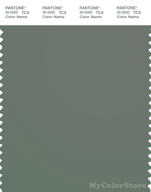 PANTONE SMART 18-5806X Color Swatch Card, Agave Green