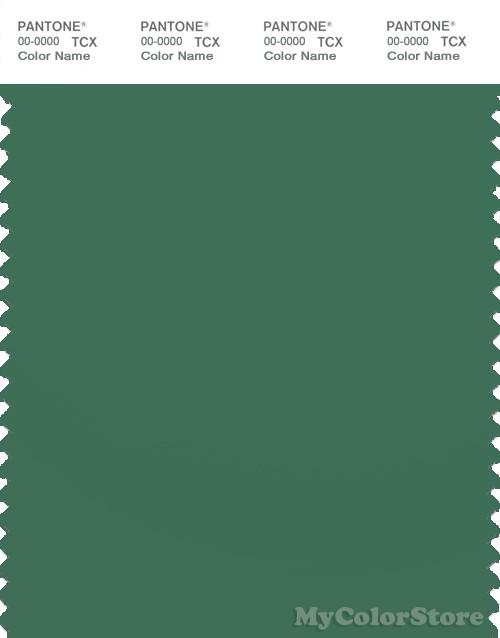 PANTONE SMART 18-6018X Color Swatch Card, Foliage Green