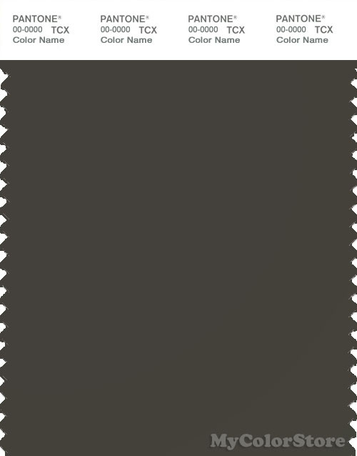 PANTONE SMART 19-0506X Color Swatch Card, Black Ink