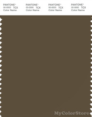 PANTONE SMART 19-0618X Color Swatch Card, Beech
