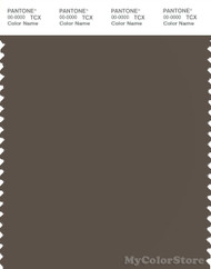 PANTONE SMART 19-0810X Color Swatch Card, Major Brown