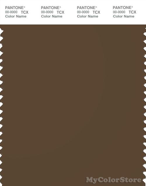 PANTONE SMART 19-0815X Color Swatch Card, Desert Palm