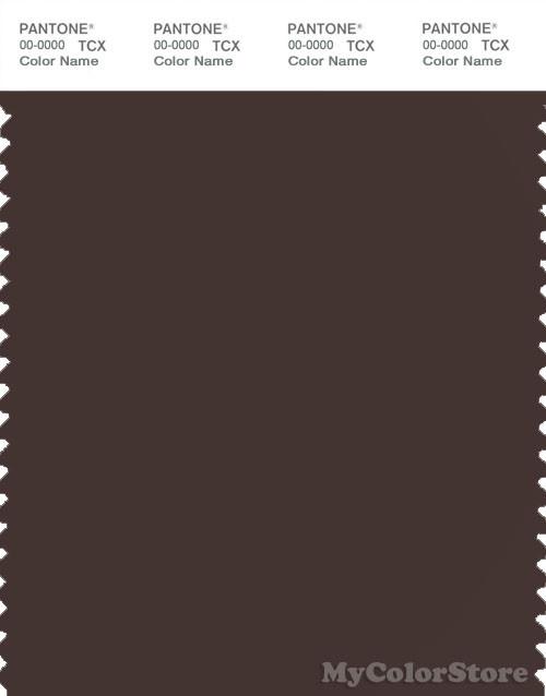 PANTONE SMART 19-1016X Color Swatch Card, Java