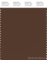 PANTONE SMART 19-1218X Color Swatch Card, Potting Soil