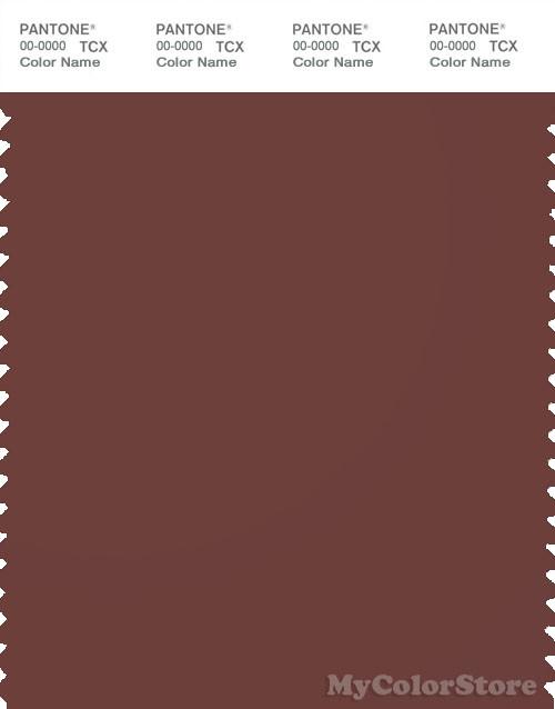 PANTONE SMART 19-1320X Color Swatch Card, Sable
