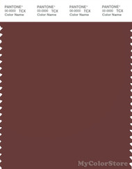 PANTONE SMART 19-1325X Color Swatch Card, Hot Chocolate