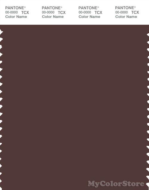 PANTONE SMART 19-1518X Color Swatch Card, Puce