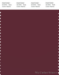 PANTONE SMART 19-1522X Color Swatch Card, Zinfandel