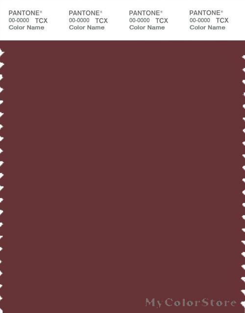 PANTONE SMART 19-1525X Color Swatch Card, Port