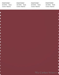 PANTONE SMART 19-1530X Color Swatch Card, Burnt Russet