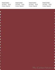 PANTONE SMART 19-1532X Color Swatch Card, Rosewood