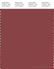 PANTONE SMART 19-1533X Color Swatch Card, Cowhide